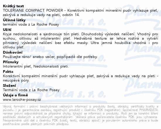 LA ROCHE-POSAY Tolereriane Teint Compact 14 9.5g