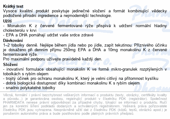 Walmark Chole PRO 30 kapslí