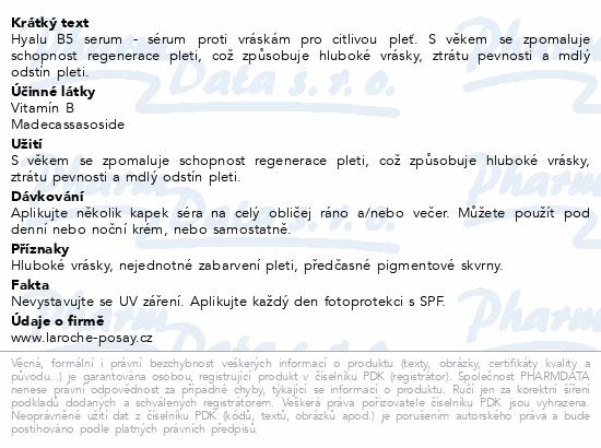 LA ROCHE-POSAY Hyalu B5 serum 30 ml
