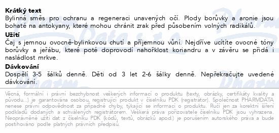 LEROS Silné oči Borůvka&Měsíček 20x1.5g