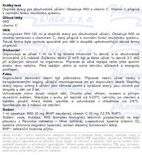 Imunoglukan P4H 120ml