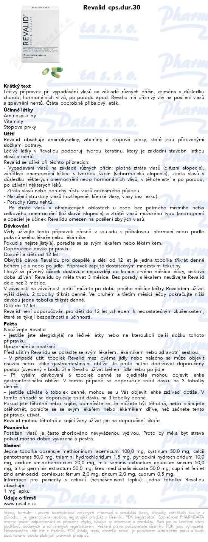Revalid 30 tobolek - 149 Kč  a1d0d8574bc