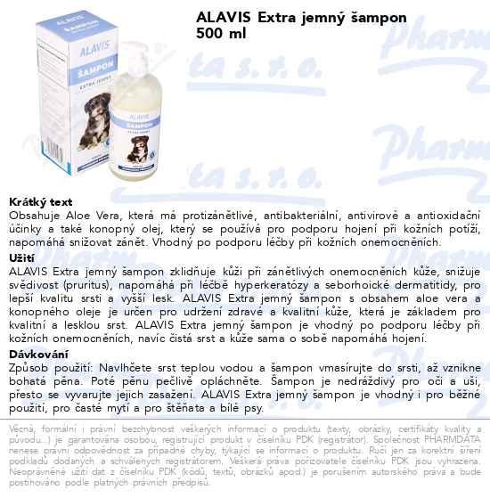 Máte dotaz k produktu ALAVIS Extra jemný šampon 500 ml 381decf5c0