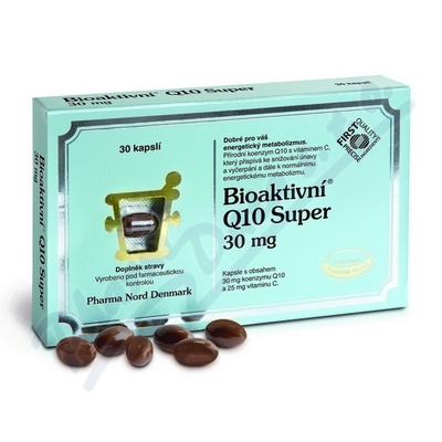 Bioaktivní Q10 Super 30 kapslí
