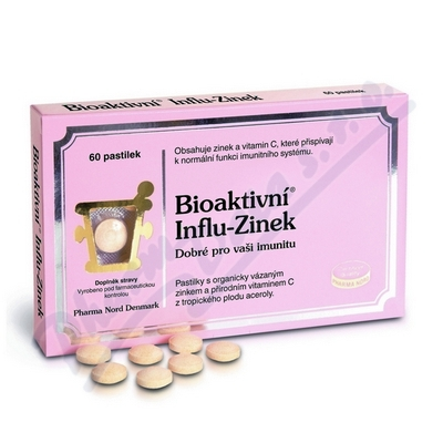 Bioaktivní Influ-Zinek 60 tablet