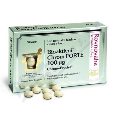 Bioaktivní Chrom FORTE 100mcg 60 tablet