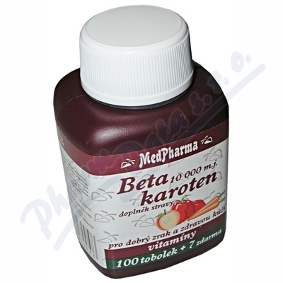 MedPharma Beta karoten 107 tobolek