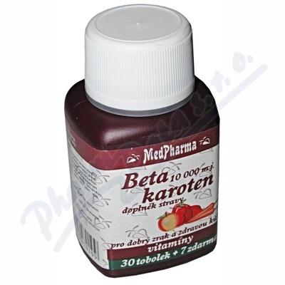 MedPharma Beta karoten 37 tobolek