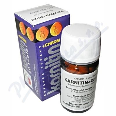 Karnitin+chrom 50 tablet
