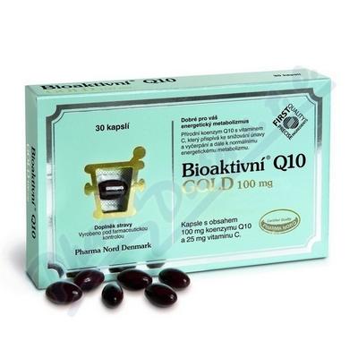 Bioaktivní Q 10 Gold 100mg 30 kapslí