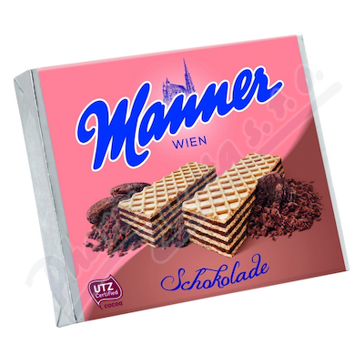 Manner Schokolade 75g Čokoládové oplatky