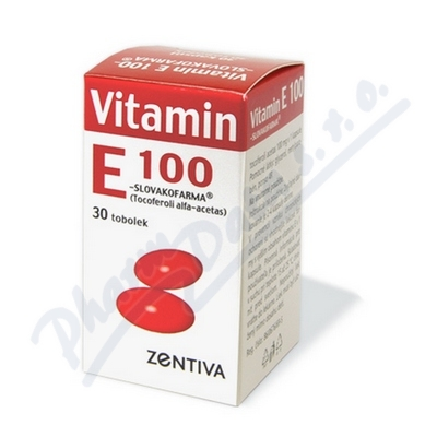 Vitamin E 100 Zentiva 30x100mg