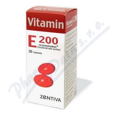 Vitamin E 200 Zentiva 30 tobolek 200mg