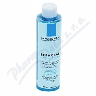 LA ROCHE Effaclaradstringentní pleťová voda 200ml při nákupu 2 produktů 25% sleva se slevovým kódem laroche25