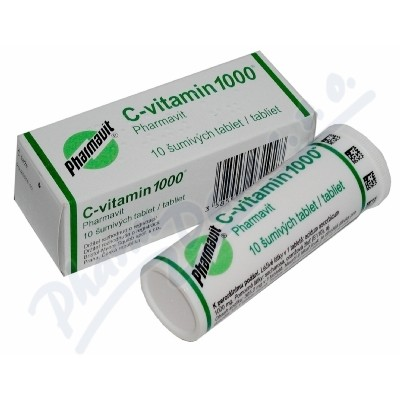 C-vitamin 1000 Pharmavit 10 šumivých tablet
