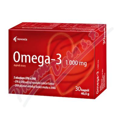Omega-3 30 kapslí pro zdravé srdce a cévy