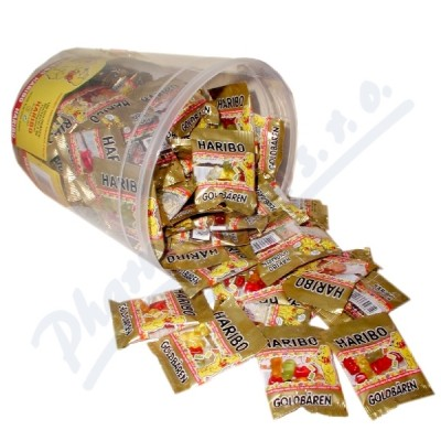 HARIBO Goldbären Mini eimer sáček 9.8g Box 100ks
