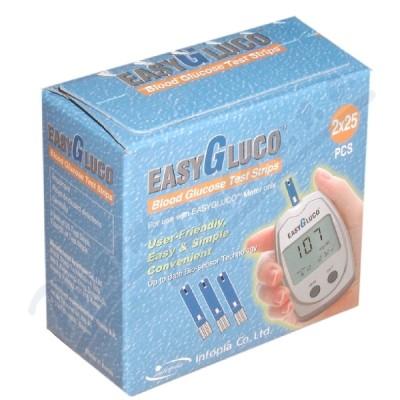 Testovací proužky pro glukometr EasyGluco 50ks