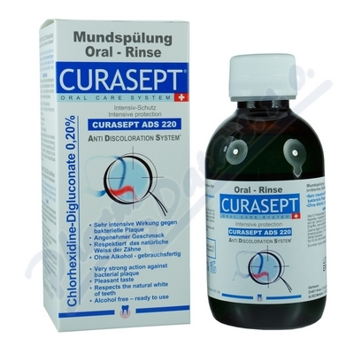 CURAPROX CURASEPT ústní voda 200ml 0.20%