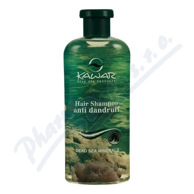 KAWAR šampon proti lupům s minerály z Mrtvého moře 400ml