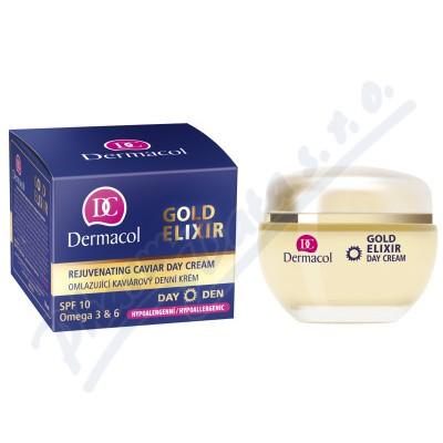 Dermacol Gold Elixir omlazující kaviárový denní krém 50ml