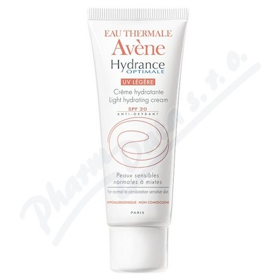 avene hydrance hydrata n kr m legere 40 ml spf 20 308. Black Bedroom Furniture Sets. Home Design Ideas
