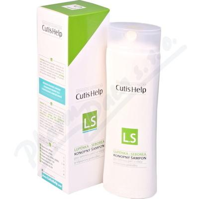 CutisHelp Konopný šampon LUPÉNKA-SEBOREA 200ml