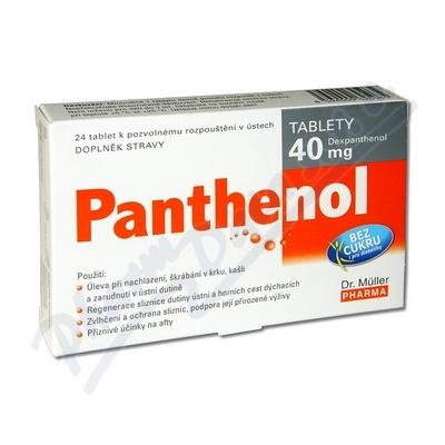Panthenol 40mg 24 tablet