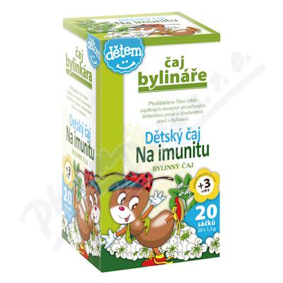 Čaj Váňa Dětský čaj na imunitu 20sáčků