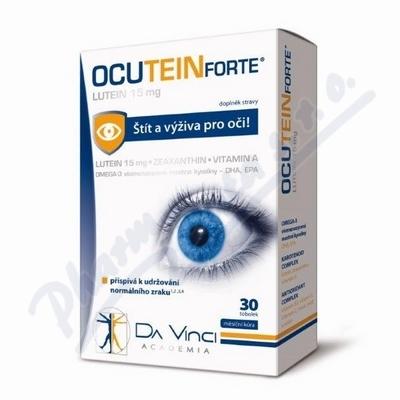 Ocutein FORTE Lutein Da Vinci Academia 30 tobolek
