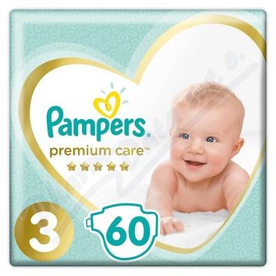 PAMPERS Premium Care Midi 4-9kg 60ks