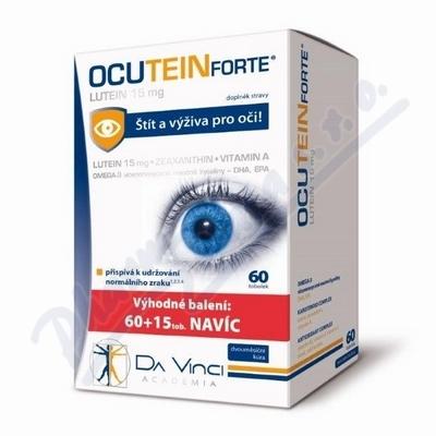 Ocutein FORTE Lutein Da Vinci Academia 60+15 tobolek zdarma