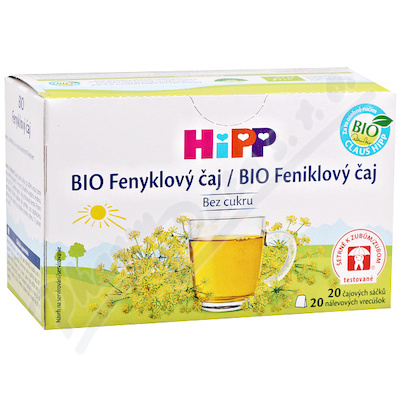 HIPP BIO Fenyklový čaj 20 sáčků