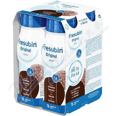 Fresubin original s čokoládovou příchutí 4 x 200ml
