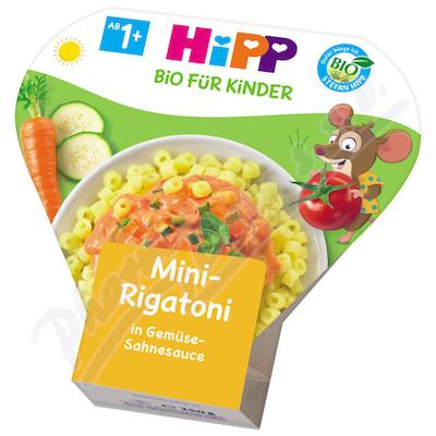 HiPP bio dětské těstoviny mini-rigatoni zeleninová směs 250g