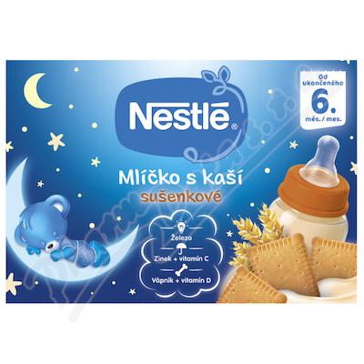 NESTLÉ Mlíčko s kaší sušenkové 2x 200ml