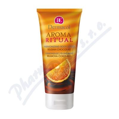 Dermacol Aroma tělové mléko čokoláda a pomeranč 200ml