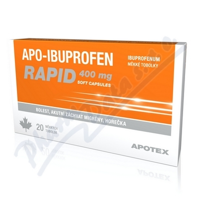 Apo-Ibuprofen Rapid 400mg 20 tablet