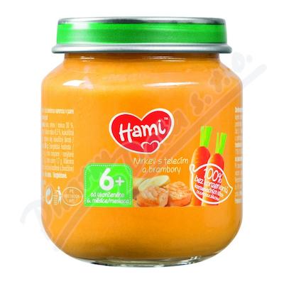 Hami příkrm mrkev brambory telecí 125g