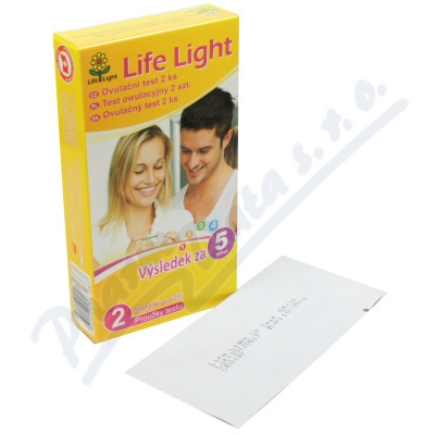 Ovulační test Life Light 2ks