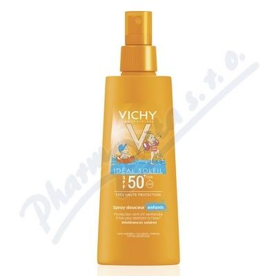 Vichy Capital Soleil Kids SPF50+ spray 200 ml k nákupu nad 690,- taštička zdarma