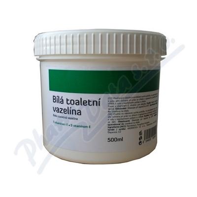 AROMATICA Bílá toaletní vazelína s vitamínem E 500 ml