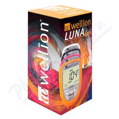 Glukometr Wellion LUNA DUO set - růžový