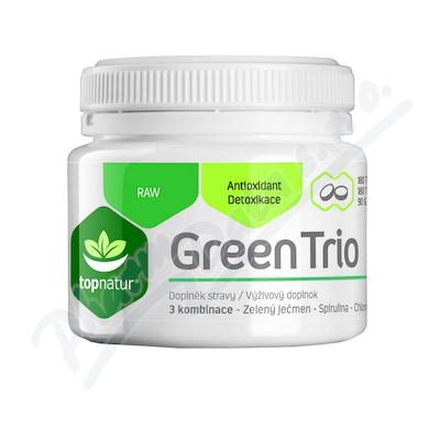 Green Trio Medicol Chlorella Spirulina a Zelený ječmen tbl.180