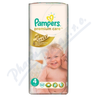PAMPERS Premium Care Maxi 7-14kg 52ks