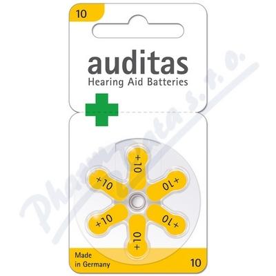 Baterie sluchátka VARTA auditas PR70 typ10 žlutá 6ks