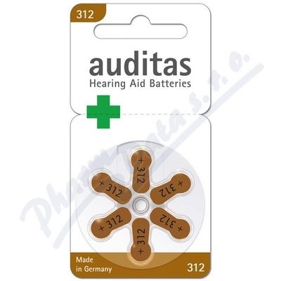 Baterie sluch. VARTA auditas PR41 typ312 hnědá 6ks