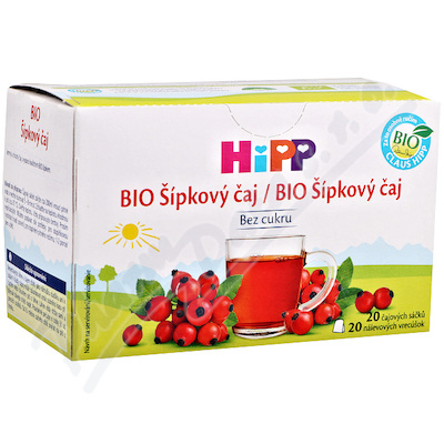 HIPP BIO Šípkový čaj 20x2g