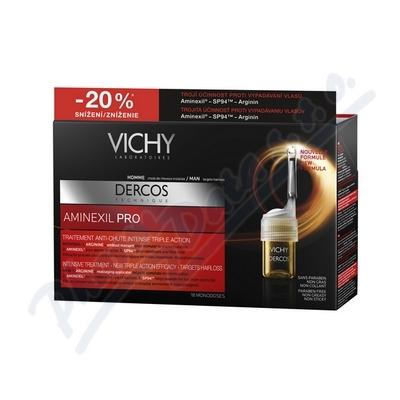 VICHY Dercos Aminexil PROMO 2014 MAN 18x6ml k nákupu nad 690,- taštička zdarma