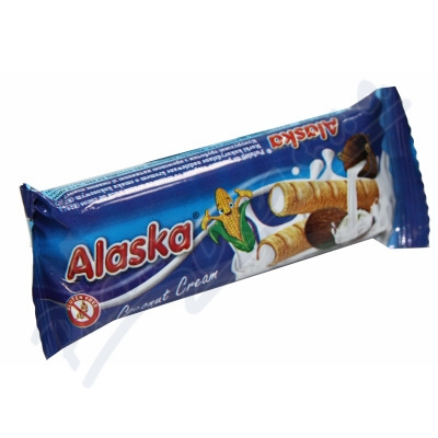 Bezlepkové kukuřičné trubičky Alaska kokosové 18g